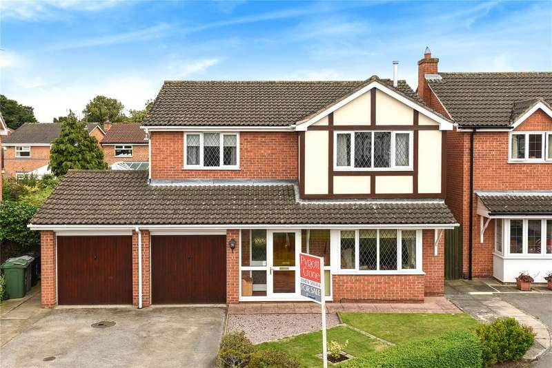 4 Bedrooms Detached House for sale in Birchwood Close, Gonerby Hill Foot, NG31