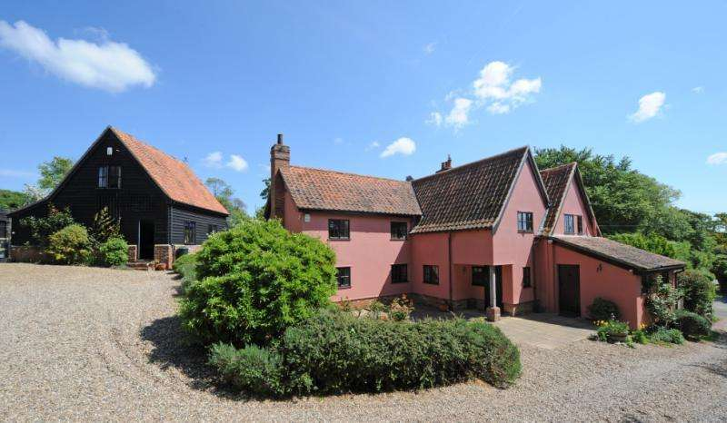 5 Bedrooms Detached House for sale in Lower Ufford, Nr Woodbridge, Suffolk, IP13
