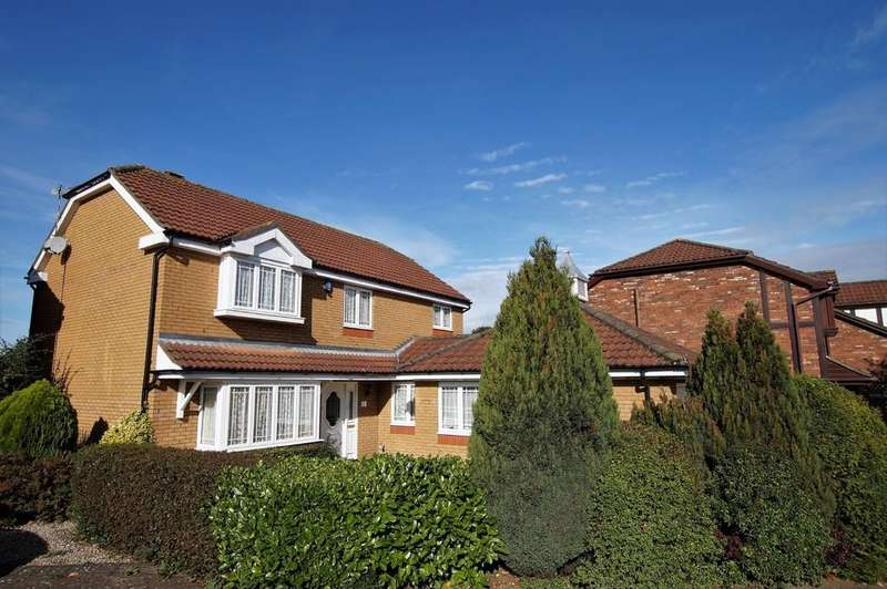 4 Bedrooms Detached House for sale in Beech Close, Dunholme
