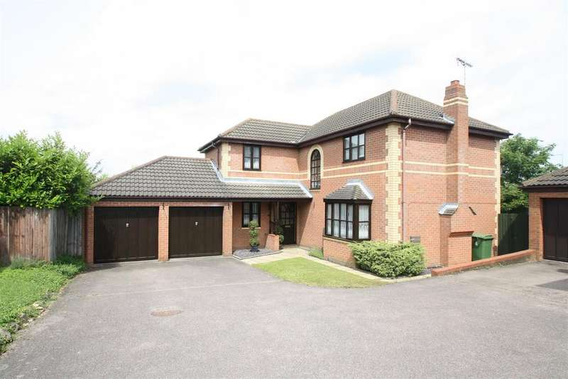 4 Bedrooms Detached House for sale in High Halden, Kents Hill, Milton Keynes