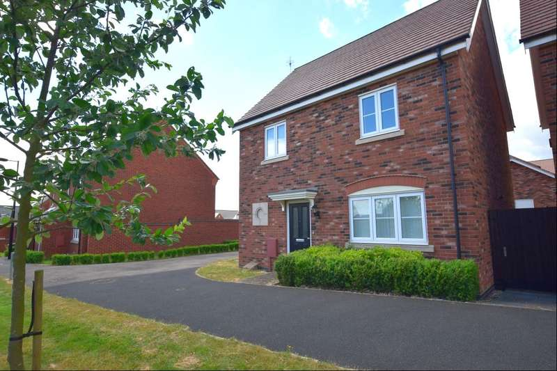 3 Bedrooms Detached House for sale in Bridge Green, Birstall, Leicester, LE4