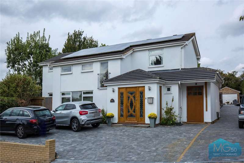 4 Bedrooms Detached House for sale in Green Meadow, Potters Bar, Hertfordshire, EN6