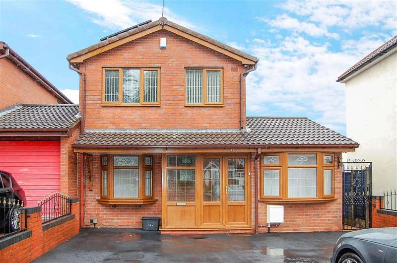 4 Bedrooms Detached House for sale in Ivyhouse Lane, Coseley