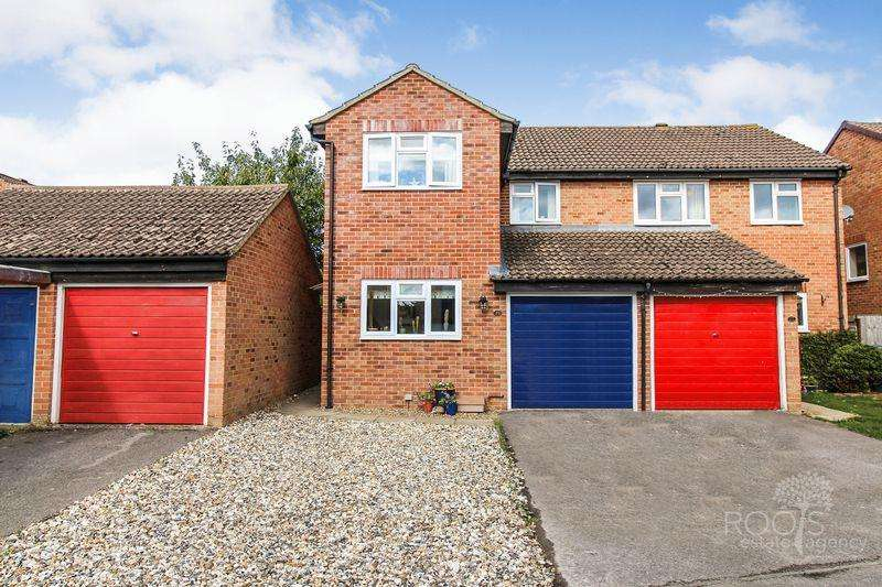 3 Bedrooms Semi Detached House for sale in Keighley Close, Thatcham