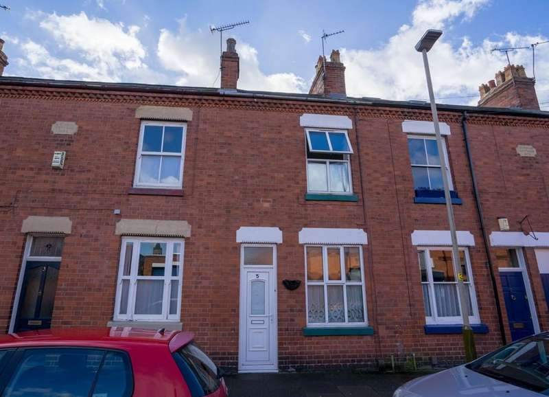 2 Bedrooms Terraced House for sale in Avenue Road Extension, Clarendon Park, Leicester