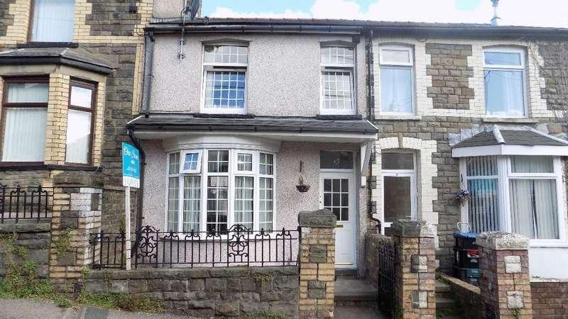 3 Bedrooms Terraced House for sale in Coronation Road, Six Bells, Abertillery. NP13 2PJ.