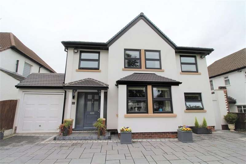 4 Bedrooms Detached House for sale in Blackwood Avenue, Woolton, LIVERPOOL, Merseyside