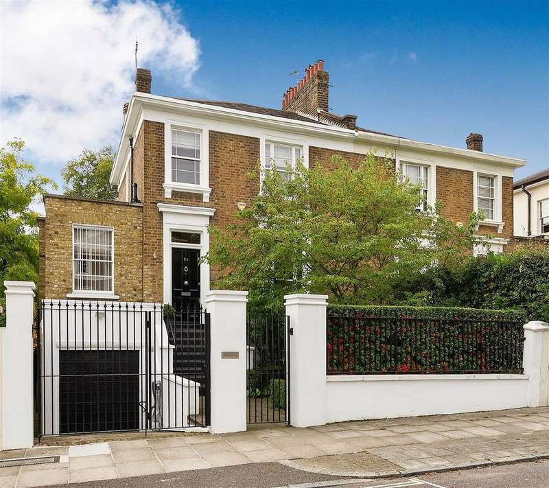 3 Bedrooms Semi Detached House for sale in Norfolk Road, St Johns Wood, London NW8