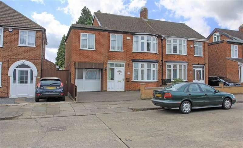 4 Bedrooms Semi Detached House for sale in Northdene Road, West Knighton, Leicester