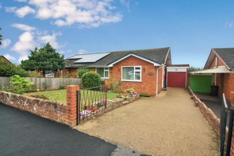 2 Bedrooms Semi Detached Bungalow for sale in Courtenay Gardens, Alphington