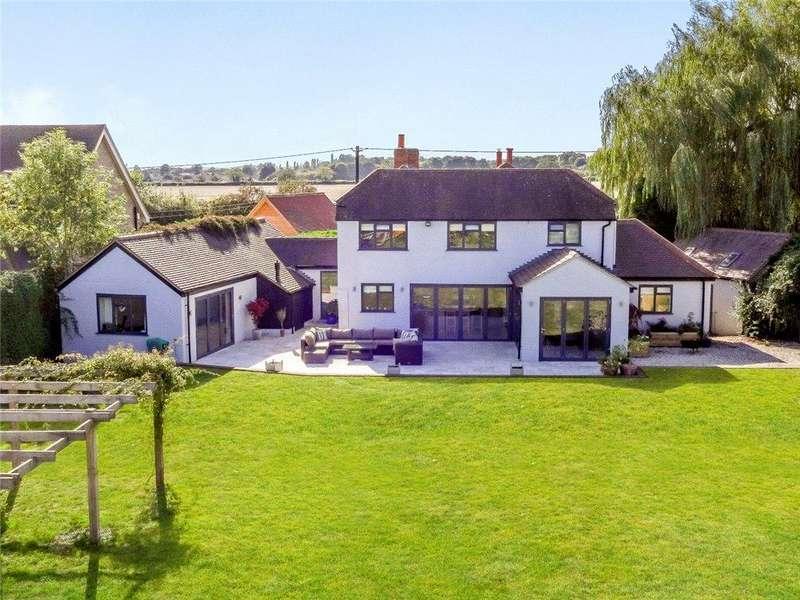 5 Bedrooms Detached House for sale in Dunsden Green, Dunsden, Reading, RG4