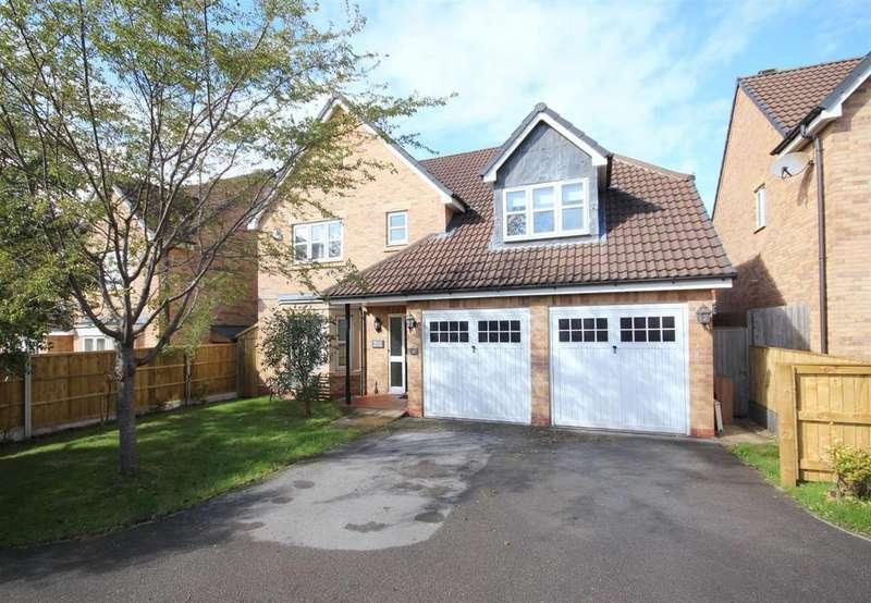 4 Bedrooms Detached House for sale in Grosvenor Drive, Littleover, Derby