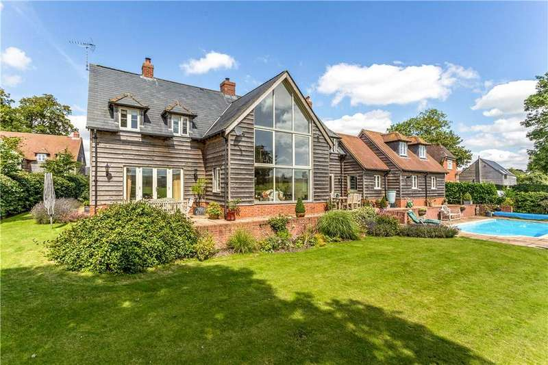 5 Bedrooms Detached House for sale in Little Salisbury, Pewsey, Wiltshire, SN9