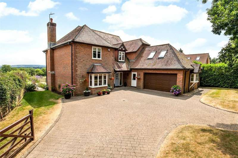 5 Bedrooms Detached House for sale in Cleves Lane, Upton Grey, Basingstoke, Hampshire, RG25