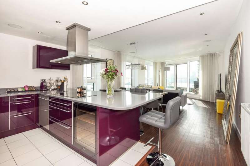 3 Bedrooms Flat for sale in Alaska Apartments, 22 Western Gateway, London