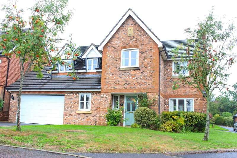 5 Bedrooms Detached House for sale in Carr Holme Gardens, Cabus, Garstang, Lancashire, PR3 1LY