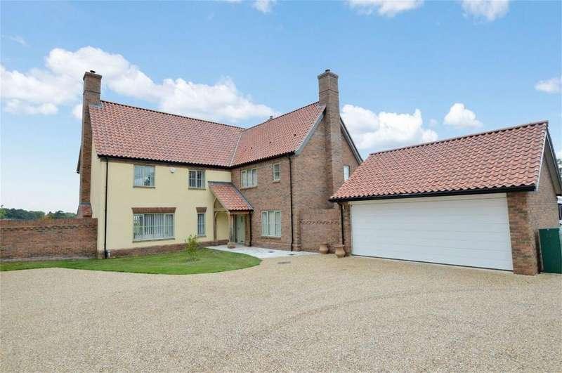 5 Bedrooms Detached House for sale in Norwich Road, Brooke, Norwich, Norfolk