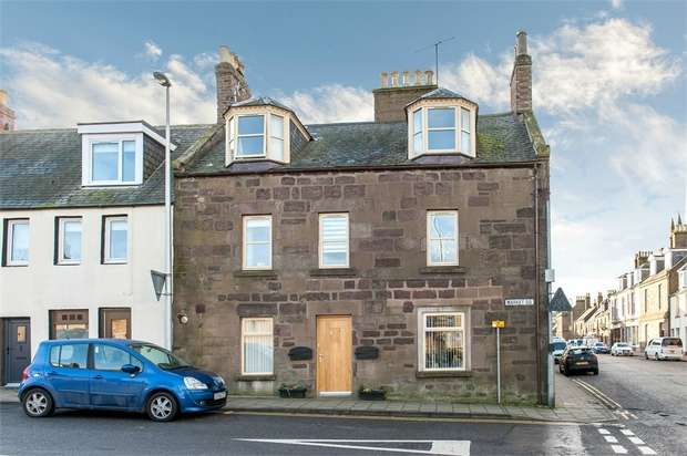 3 Bedrooms End Of Terrace House for sale in Market Square, Inverbervie, Montrose, Aberdeenshire
