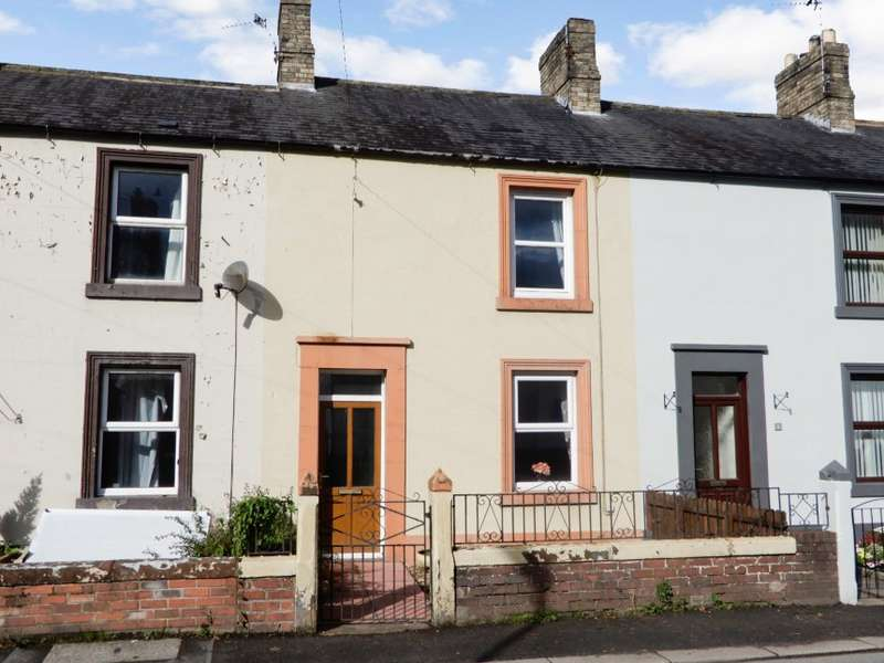 2 Bedrooms Terraced House for sale in 7 Graham Street, Longtown, Cumbria
