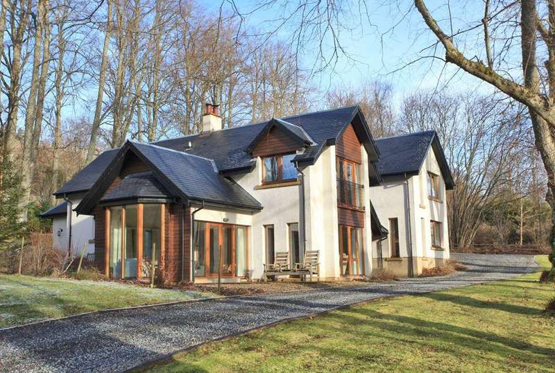 5 Bedrooms Detached Villa House for sale in Lime Trees, Garth, Fortingall, PH15 2NF