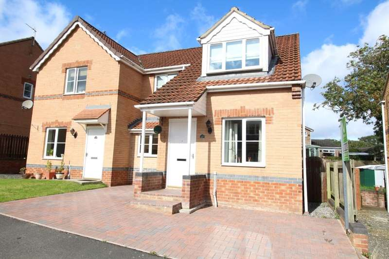 3 Bedrooms Semi Detached House for sale in Dickens Way, Crook, DL15