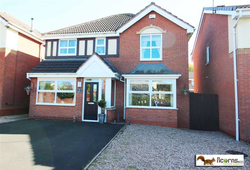 4 Bedrooms Detached House for sale in Ivy Grove, Walsall