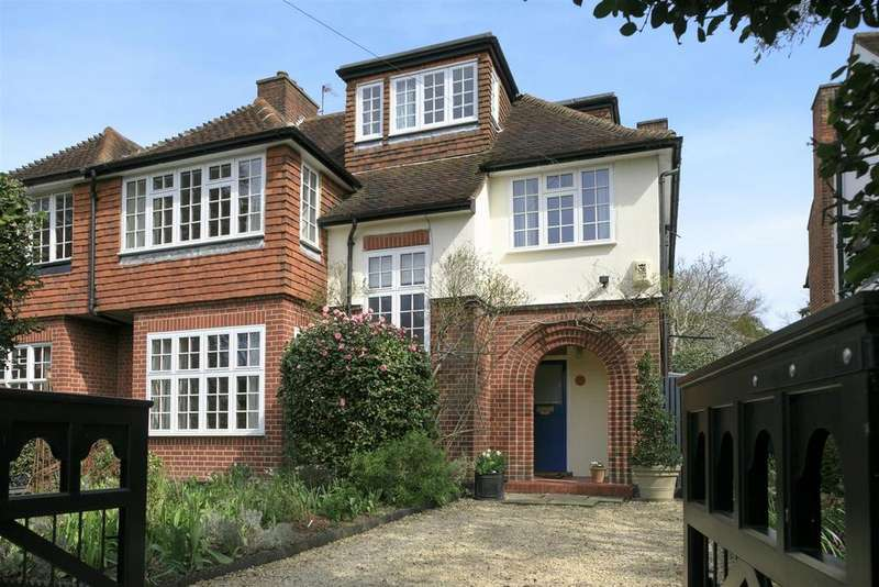 5 Bedrooms Semi Detached House for sale in Church Lane, Merton Park