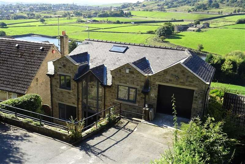 5 Bedrooms Detached House for sale in Lamb Hall Road, Longwood, Huddersfield