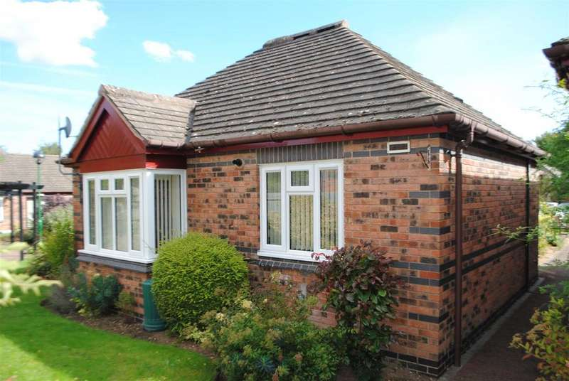 2 Bedrooms Semi Detached Bungalow for sale in Badger Court, Loughborough