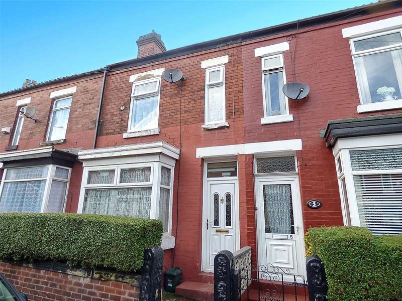 3 Bedrooms Terraced House for sale in Woodfield Road, Crumpsall, Manchester, M8
