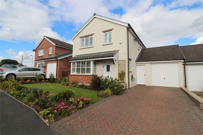 3 Bedrooms Link Detached House for sale in CA10 1RP Eden Meadows, Temple Sowerby, PENRITH, Cumbria