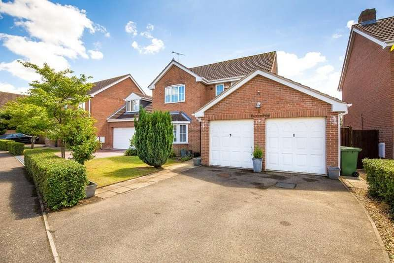 4 Bedrooms Detached House for sale in Farriers Way, Warboys