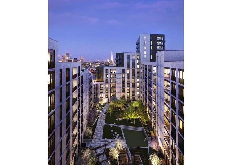 2 Bedrooms Flat for sale in Postmark, London, EC1A
