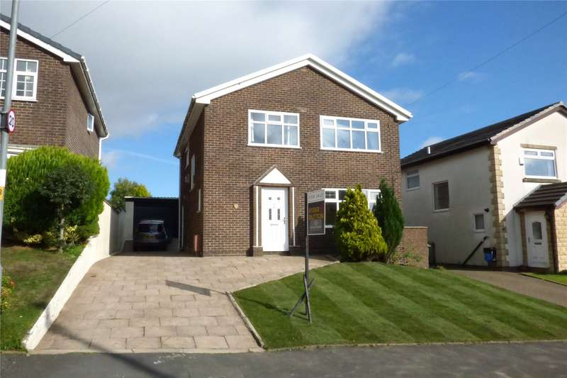 4 Bedrooms Detached House for sale in Onchan Drive, Bacup, Lancashire, OL13
