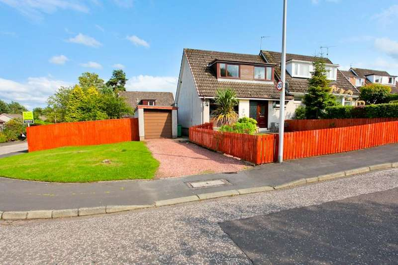 3 Bedrooms Semi Detached House for sale in Kinkell Avenue, Glenrothes