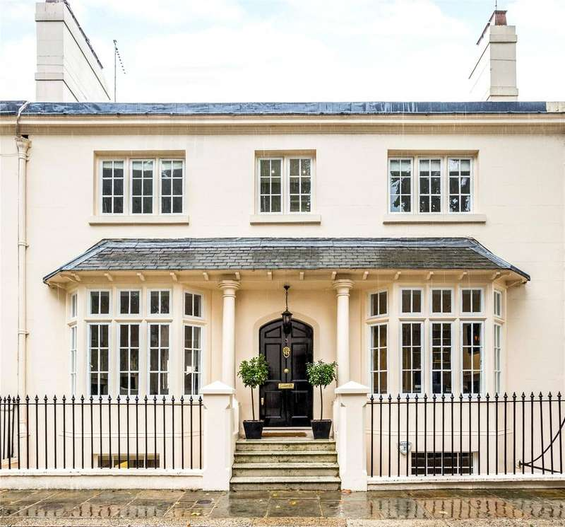3 Bedrooms Terraced House for sale in Park Village West, Regent's Park, London, NW1