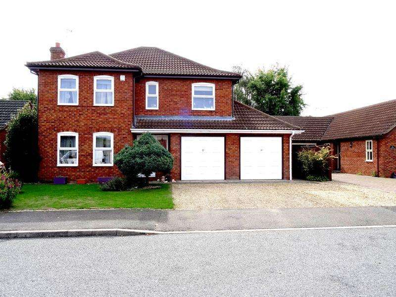 4 Bedrooms Detached House for sale in Campion Close, Spalding