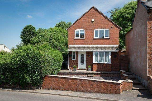 4 Bedrooms Detached House for sale in High Street, Alsagers Bank, Stoke-on-Trent, Staffordshire, ST7 8BQ