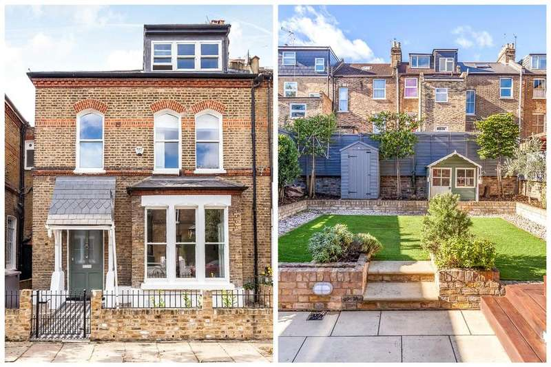 5 Bedrooms Terraced House for sale in Finsbury Park Road, Finsbury Park, N4