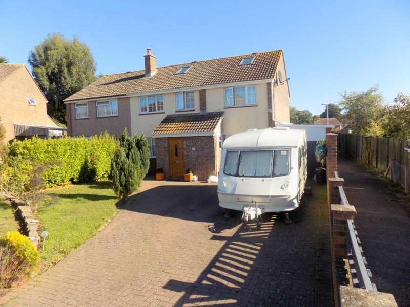 5 Bedrooms Semi Detached House for sale in Martins Road, Exmouth