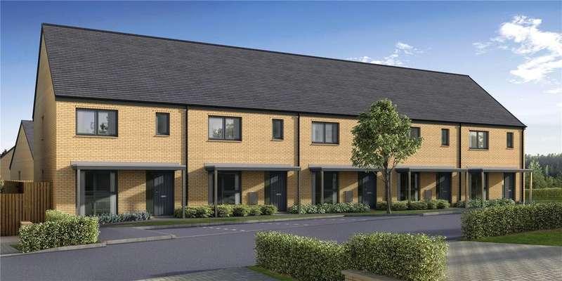 3 Bedrooms Terraced House for sale in Manor Wood, Plot 63 - Alder, Old Dalkeith Road, Edmonstone, EH17