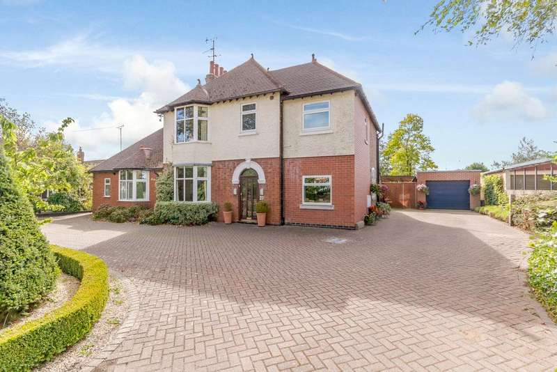 5 Bedrooms Detached House for sale in Lubenham Hill, Market Harborough, Leicestershire