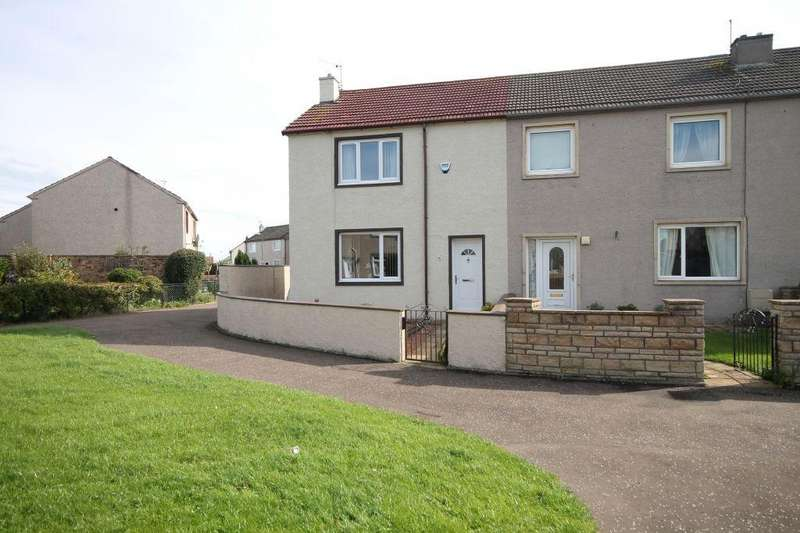 2 Bedrooms End Of Terrace House for sale in 38 Fa'side Crescent, Tranent, EH33 2BX