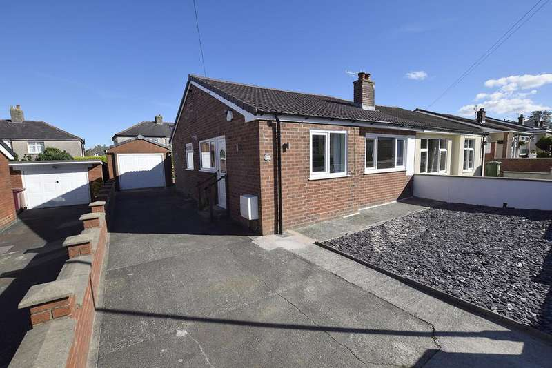 2 Bedrooms Semi Detached Bungalow for sale in Oakeneaves Avenue, Burnley BB11 5HH