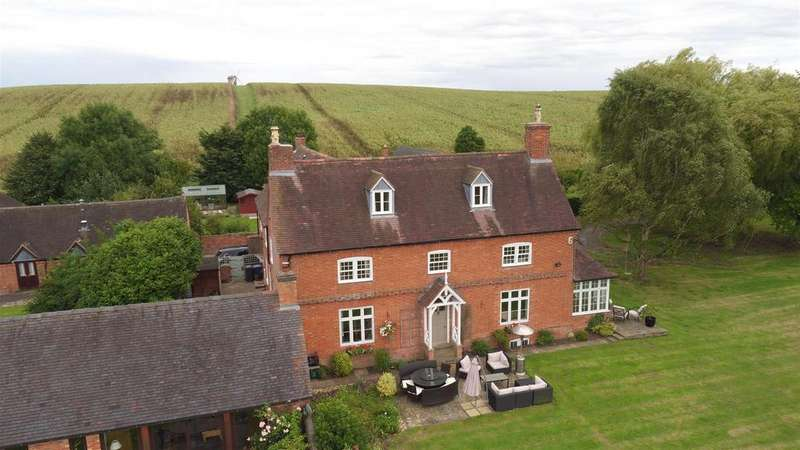5 Bedrooms Detached House for sale in Windmill Hill Lane, Chesterton, Leamington Spa, Warwickshire