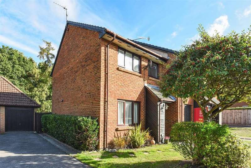 3 Bedrooms End Of Terrace House for sale in Otter Close, Crowthorne, Berkshire RG45 6TN