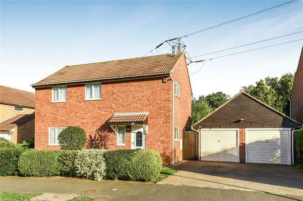 4 Bedrooms Detached House for sale in Douglas Road, Bedford
