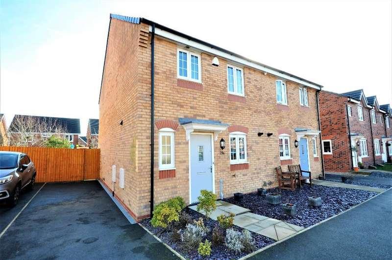 3 Bedrooms Semi Detached House for sale in Sycamore Drive, Wesham, Preston, Lancashire, PR4 3FG