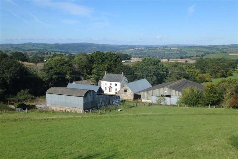 5 Bedrooms Farm Land Commercial for sale in Tregoyd, Tregoyd, Brecon, Powys