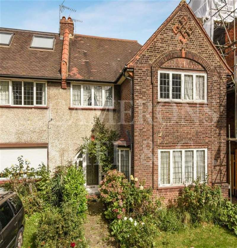 4 Bedrooms Semi Detached House for sale in Staverton Road, Brondesbury Park, London, NW2